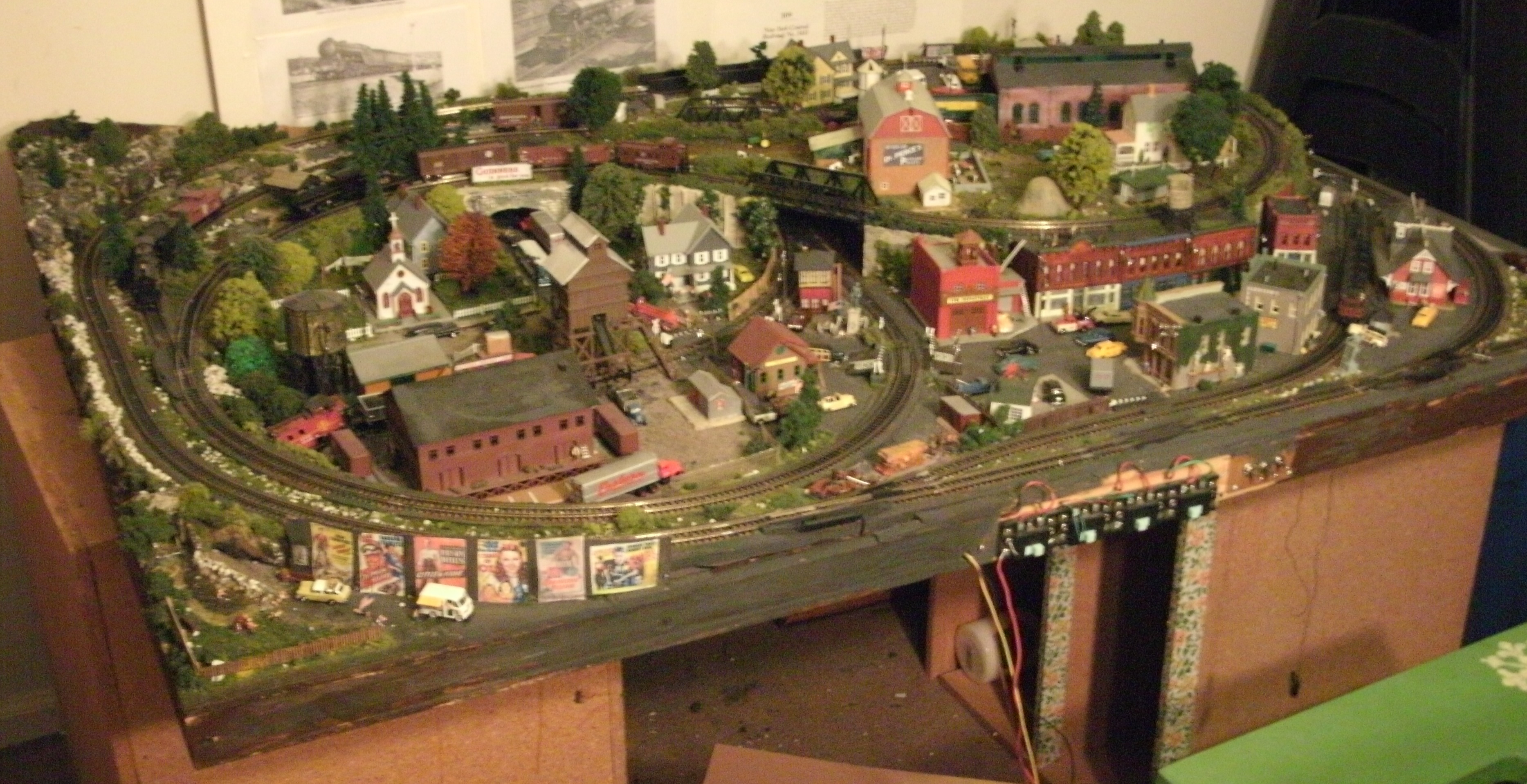 Geoff s layout model railway layouts plans - Ho scale layouts for small spaces concept ...